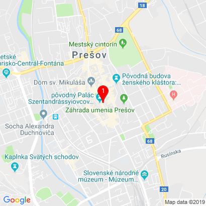 Hlavná 50,Prešov,08001