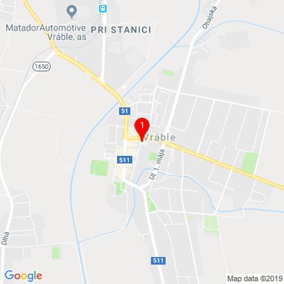 Moravská 280,Vráble,952 01