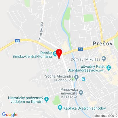 Obrancov Mieru 4685/72,Prešov,080 01