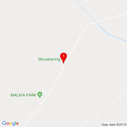 Areál okruhu Slovakia Ring,Orechová Potôň,930 02