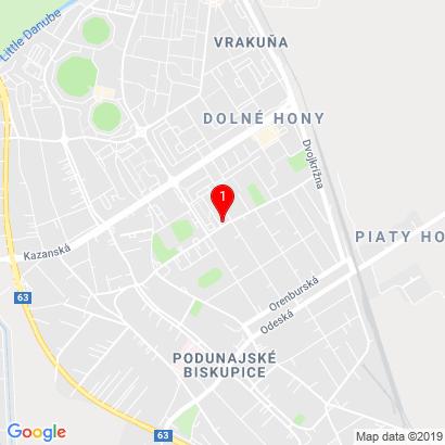 Hronská 5153/30,Bratislava-Podunajské Biskupice,82107