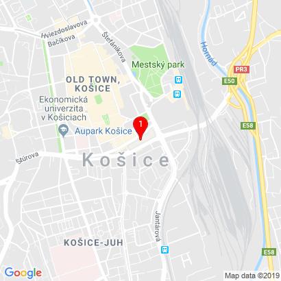 OC Aupark, Námestie osloboditeľov 1,Košice,040 01
