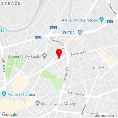 Nám. M. Benku 15,Bratislava - Staré Mesto,811 05