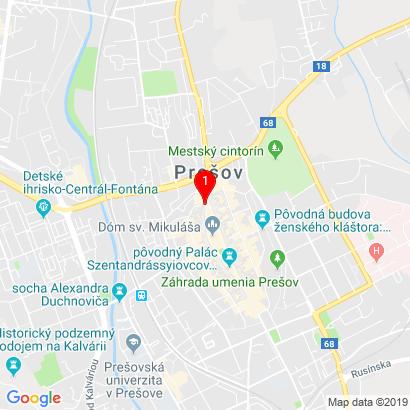 Hlavná 2930/119,Prešov,080 01