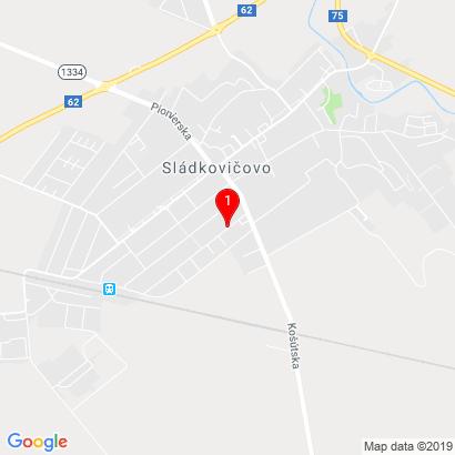 Mlynská 962/27,Sládkovičovo,92521