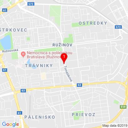 Tomášikova 3/A,Bratislava - mestská časť Ružinov,82105