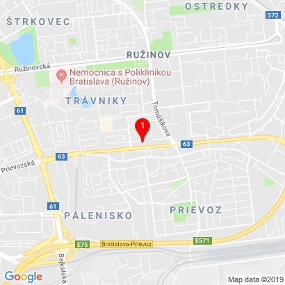 Rezedová 1489/17,Bratislava,821 01